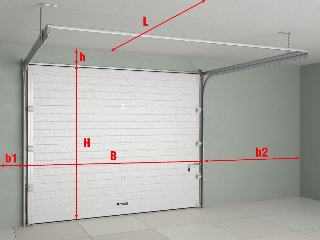 DoorHan RSD01 DIY 2375x2280 bílá