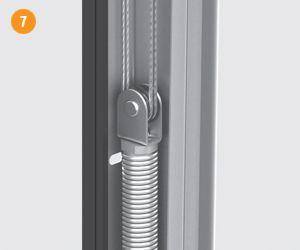 DoorHan RSD01 DIY 2500x2030 bílá