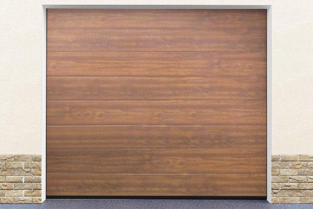 DoorHan RSD01 DIY 3000x2150 zlatý dub